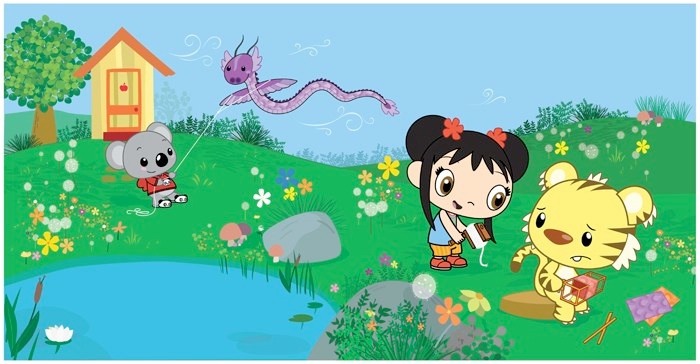 Ni Hao Kai Lan Cartoon